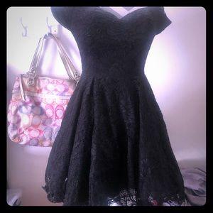 Black Windsor cocktail dress